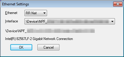 RR-NET Settings in VICE