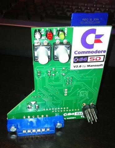 C64SD v2.0 by Manosoft