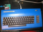 Blue Commodore 64