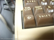 C64 with dusty keys