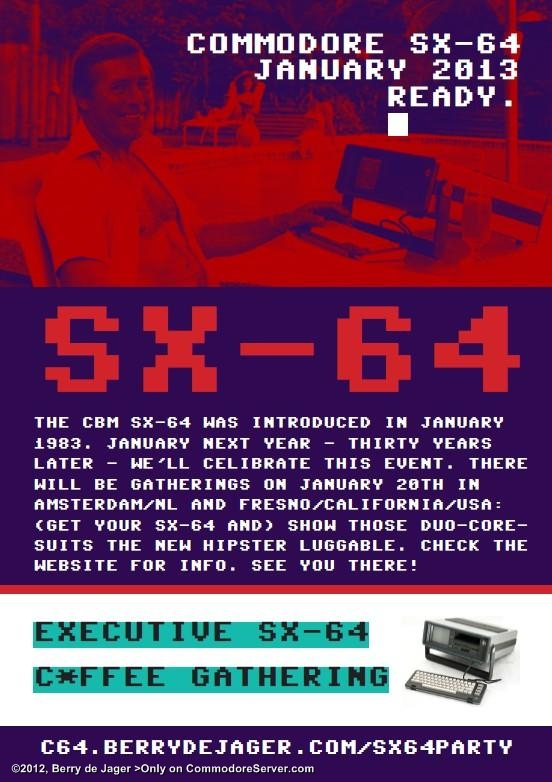 SX64PARTY - Organise one to celebrate!