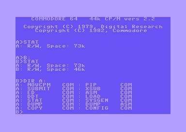 cp/m 2.2 C64